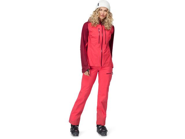 3915db793 Norrøna Lyngen Gore-Tex Jacket Women crisp ruby